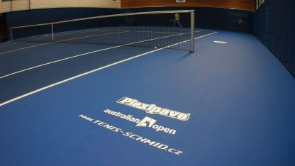Plexicushion Official Surface Of The Australian Open In Ltk Liberec